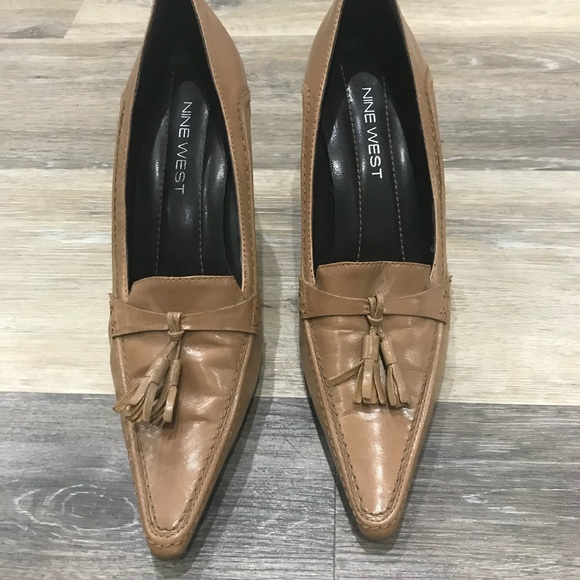Nine West Shoes - Nine West leather shoes with tassels
